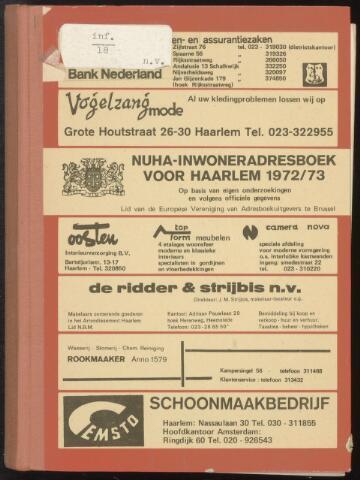 Adresboeken Haarlem 1972