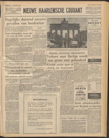 Nieuwe Haarlemsche Courant 1960-09-01