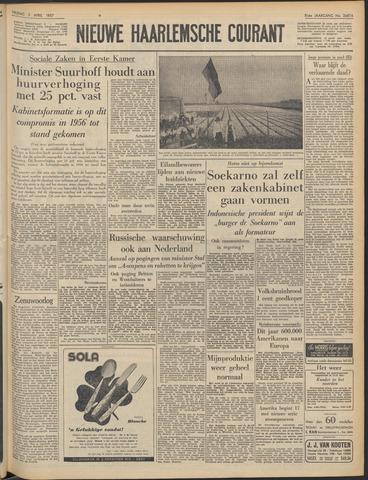 Nieuwe Haarlemsche Courant 1957-04-05