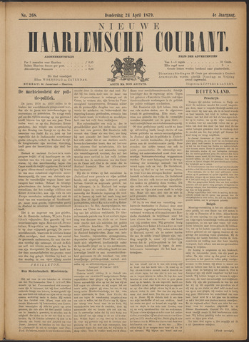 Nieuwe Haarlemsche Courant 1879-04-24