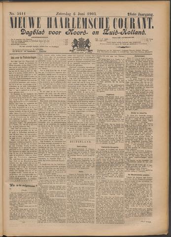 Nieuwe Haarlemsche Courant 1903-06-06