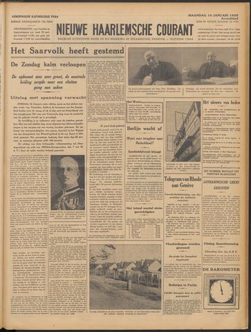 Nieuwe Haarlemsche Courant 1935-01-14