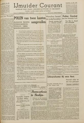 IJmuider Courant 1939-09-18
