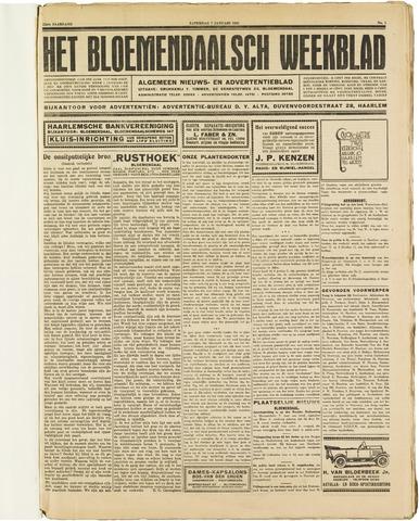 Het Bloemendaalsch Weekblad 1928