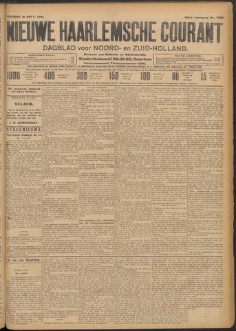 Nieuwe Haarlemsche Courant 1910-09-16