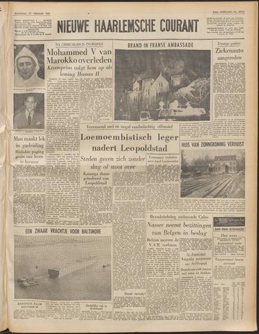Nieuwe Haarlemsche Courant 1961-02-27