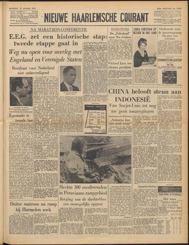 Nieuwe Haarlemsche Courant 1962-01-15