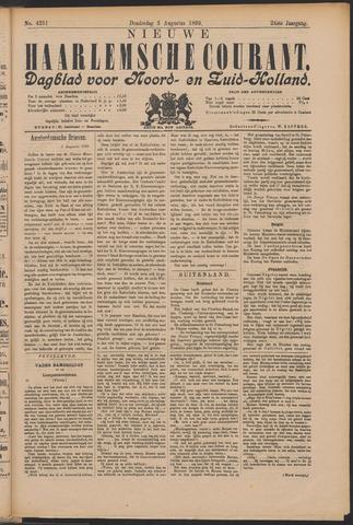 Nieuwe Haarlemsche Courant 1899-08-03