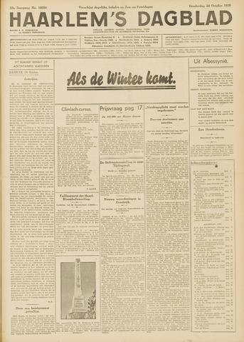 Haarlem's Dagblad 1935-10-24