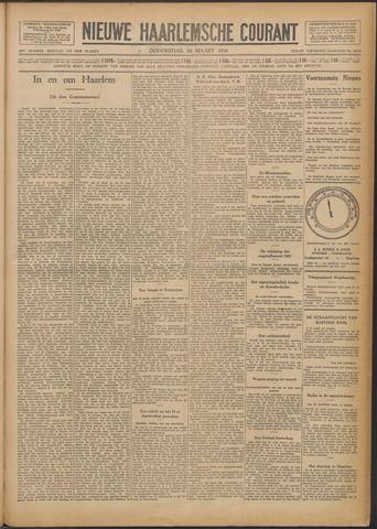 Nieuwe Haarlemsche Courant 1928-03-29