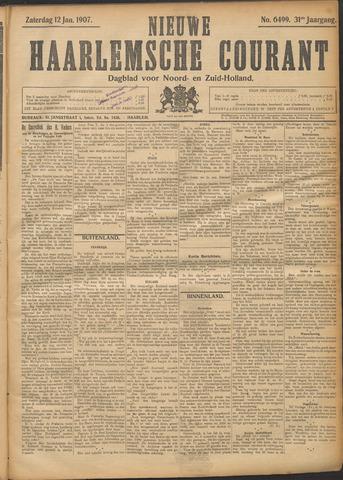 Nieuwe Haarlemsche Courant 1907-01-12