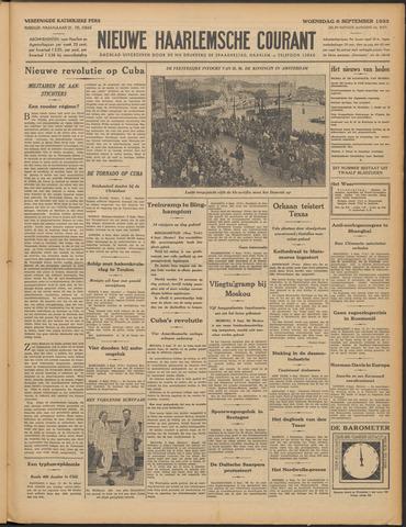 Nieuwe Haarlemsche Courant 1933-09-06