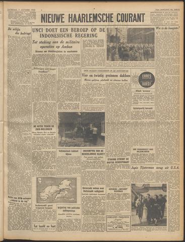 Nieuwe Haarlemsche Courant 1950-10-07