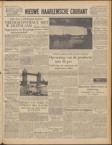 Nieuwe Haarlemsche Courant 1951-09-14