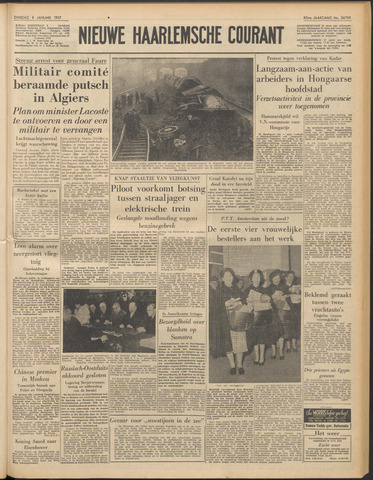 Nieuwe Haarlemsche Courant 1957-01-08