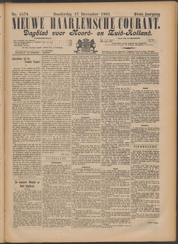 Nieuwe Haarlemsche Courant 1903-12-17