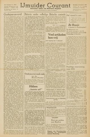IJmuider Courant 1945-12-31