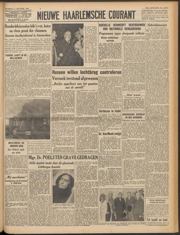 Nieuwe Haarlemsche Courant 1948-09-11