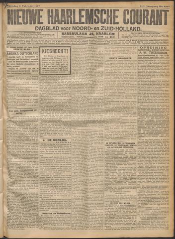 Nieuwe Haarlemsche Courant 1917-02-05