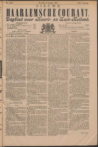 Nieuwe Haarlemsche Courant 1900-01-24
