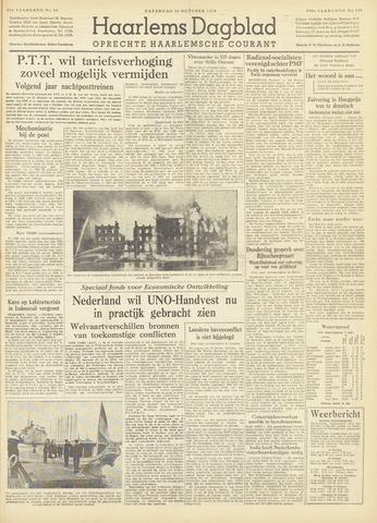 Haarlem's Dagblad 1954-10-16