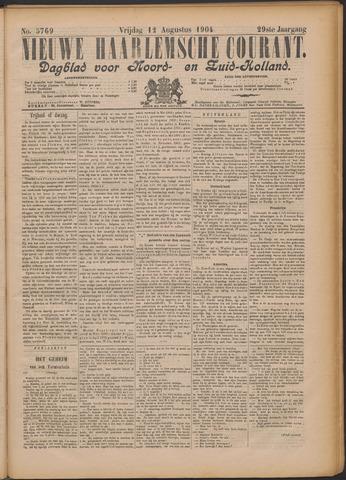 Nieuwe Haarlemsche Courant 1904-08-12
