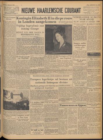 Nieuwe Haarlemsche Courant 1952-02-08