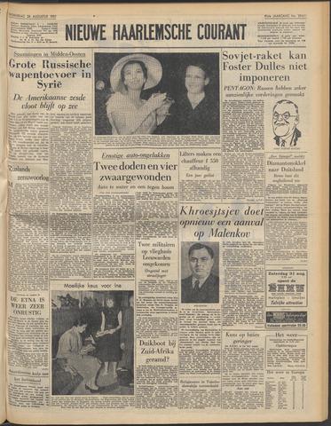 Nieuwe Haarlemsche Courant 1957-08-28