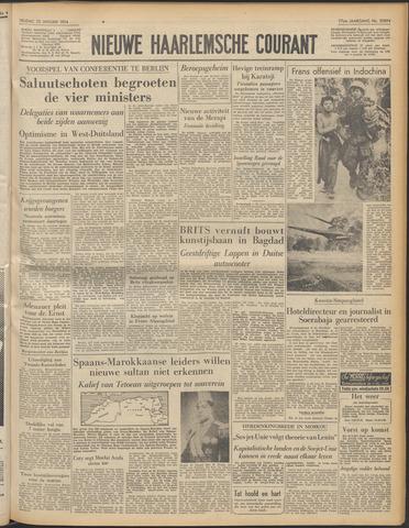 Nieuwe Haarlemsche Courant 1954-01-22
