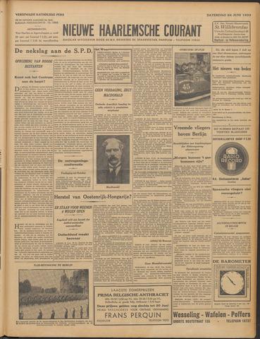 Nieuwe Haarlemsche Courant 1933-06-24