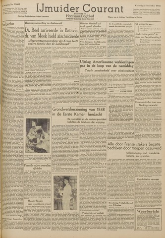 IJmuider Courant 1948-11-03
