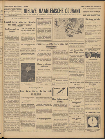 Nieuwe Haarlemsche Courant 1940-01-07