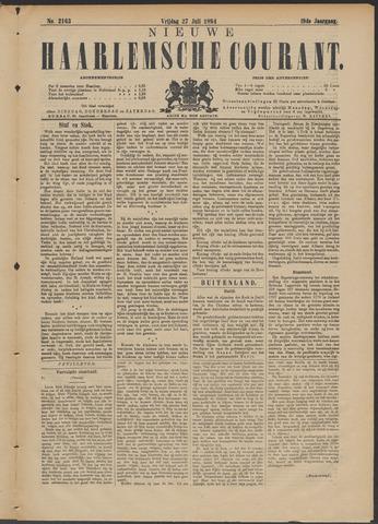 Nieuwe Haarlemsche Courant 1894-07-27