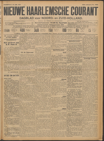 Nieuwe Haarlemsche Courant 1910-01-20