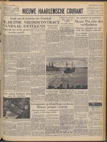 Nieuwe Haarlemsche Courant 1952-05-26