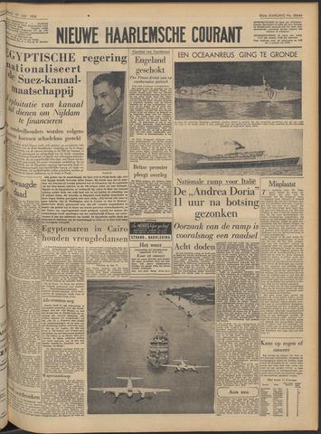 Nieuwe Haarlemsche Courant 1956-07-27