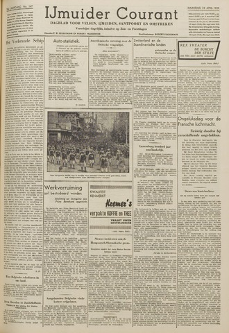 IJmuider Courant 1939-04-24