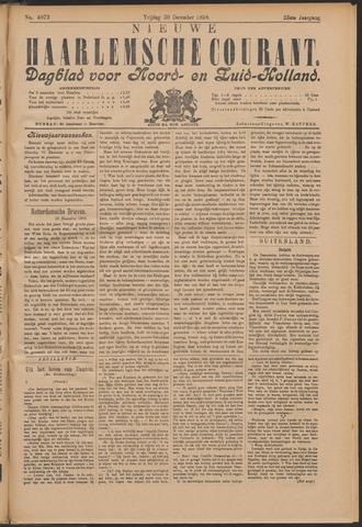 Nieuwe Haarlemsche Courant 1898-12-30