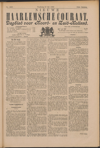 Nieuwe Haarlemsche Courant 1899-07-27