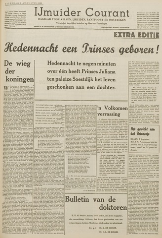 IJmuider Courant 1939-08-05