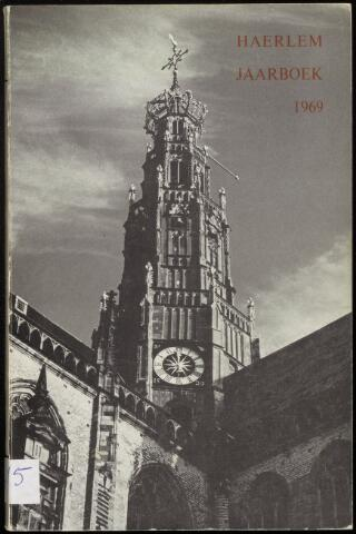 Jaarverslagen en Jaarboeken Vereniging Haerlem 1969