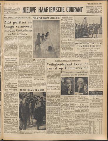 Nieuwe Haarlemsche Courant 1961-02-21