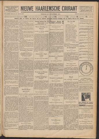 Nieuwe Haarlemsche Courant 1931-11-20
