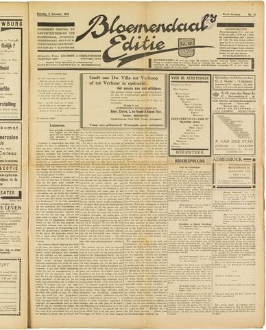 Bloemendaal's Editie 1928-12-08