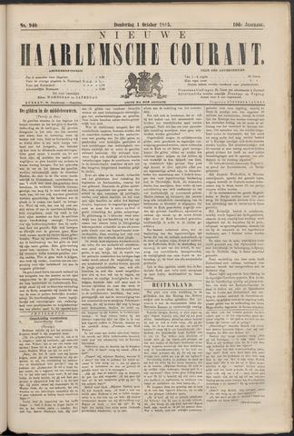 Nieuwe Haarlemsche Courant 1885-10-01