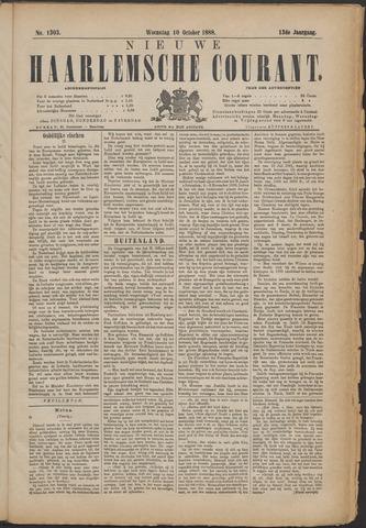 Nieuwe Haarlemsche Courant 1888-10-10