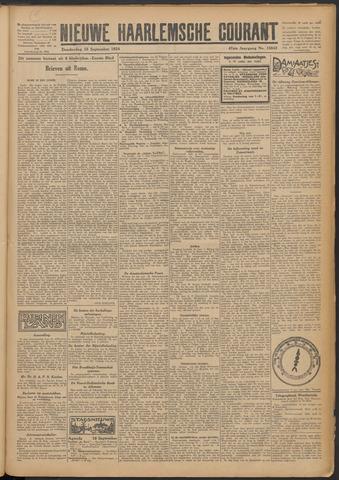 Nieuwe Haarlemsche Courant 1924-09-18