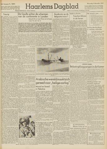 Haarlem's Dagblad 1947-12-03