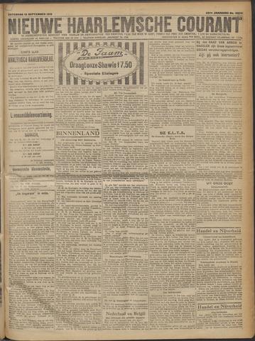 Nieuwe Haarlemsche Courant 1919-09-13