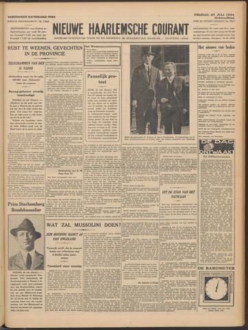 Nieuwe Haarlemsche Courant 1934-07-27